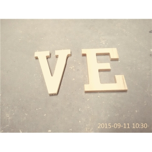 Cheap price wooden letters for children's toy