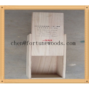 China supply little wood box with sliding lid