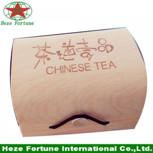 Fast delivery good quality folding wooden box for gift