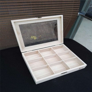 Good quality packaging wooden tea boxes used for sale