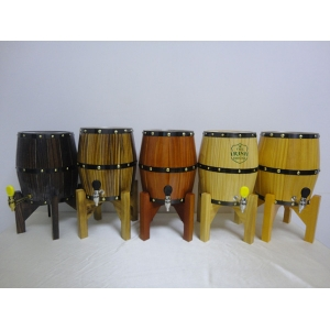 Mini beer wood keg with stainless steel barrel inlay very high quality