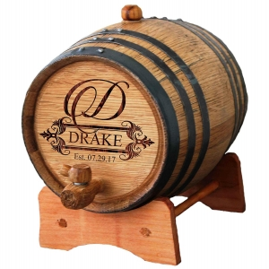 Mini szie wood barrel with custom logo