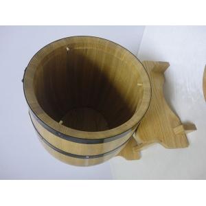 Open Lid Oak Barrel With Sgs Food Grade Foil Bag Liner