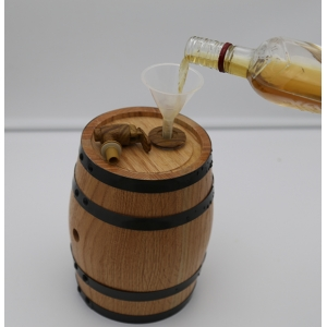 Real red oak wood whisky storage barrel for sale