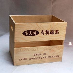 Wholesale wooden box crates from China manufacturer