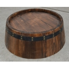 China DIY wood half barrel,barrel head manufacturer factory