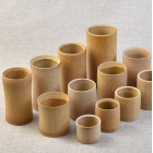 China Good quality bamboo cup factory