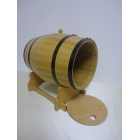 China Open lid oak barrel with SGS food grade foil bag liner factory