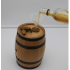 China Real red oak wood whisky storage barrel for sale factory