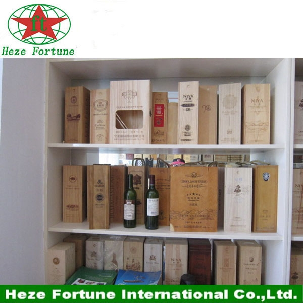seule bouteille de vin bo te en bois d 39 emballage de gros. Black Bedroom Furniture Sets. Home Design Ideas