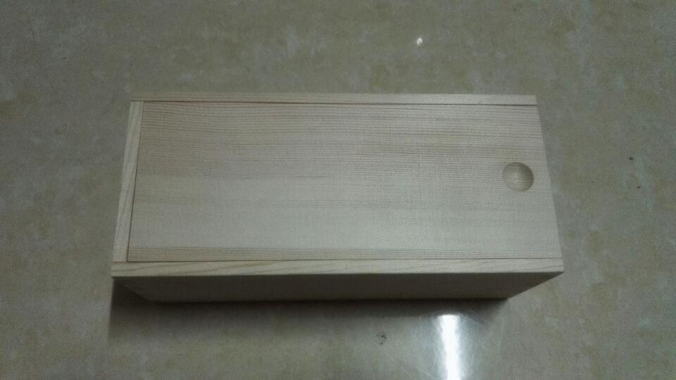bo te de bois de pin couvercle coulissant avec 12 compartiments. Black Bedroom Furniture Sets. Home Design Ideas